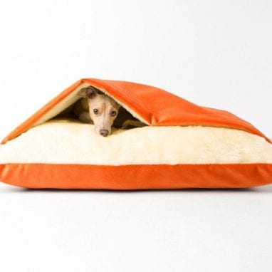 charley-chau-dog-snuggle-bed-tangerine