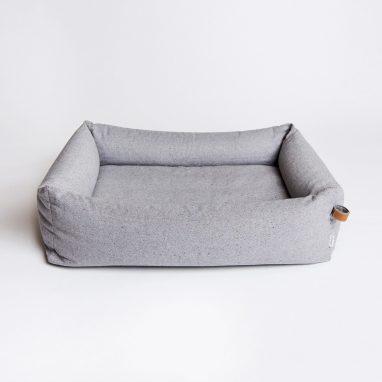cloud 7 pet bed sleepy deluxe tweed grey fletcher of london luxury pet products. Black Bedroom Furniture Sets. Home Design Ideas