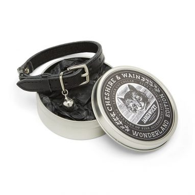 cheshire and wain Black-Luxury-Cat-Collar-Jabberwocky
