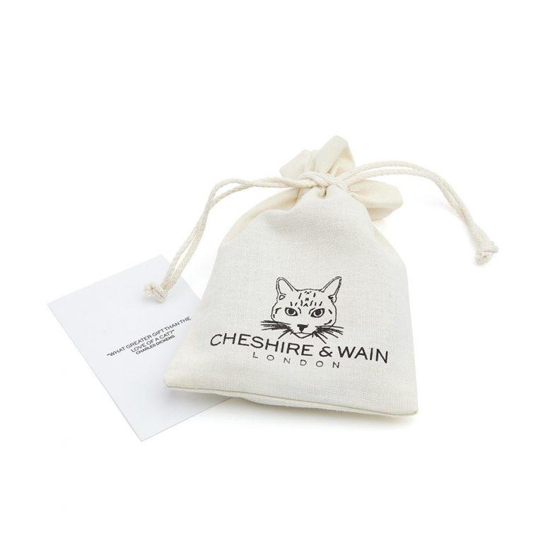 Cheshire+&+Wain+-+Caviar+luxury cat Collar