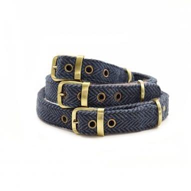 tweedmill Collars Navy HB