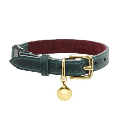 RIGBY-PERSONALISED-LEATHER-CAT-COLLAR-LUXURY