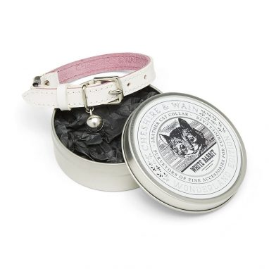 cheshire wain luxury cat collar wonderland edition