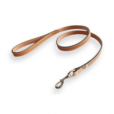 lord lou Ascot-leash-brown