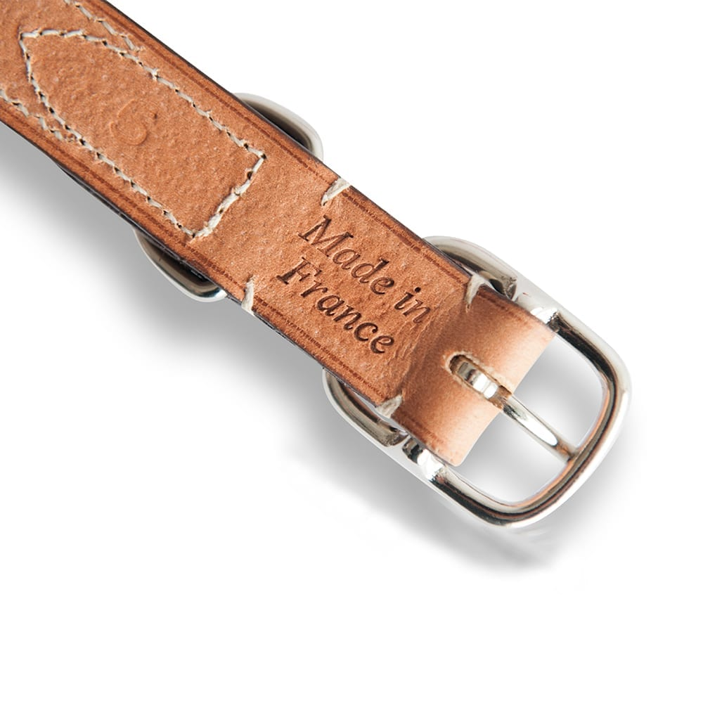 Lord Lou Ascot Leather Dog Collar Fletcher Of London