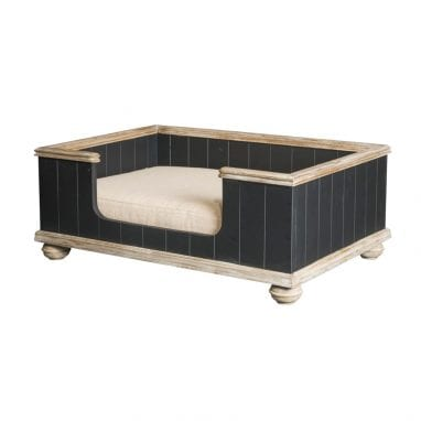 lord lou luxury dog bed Bernard-Black-