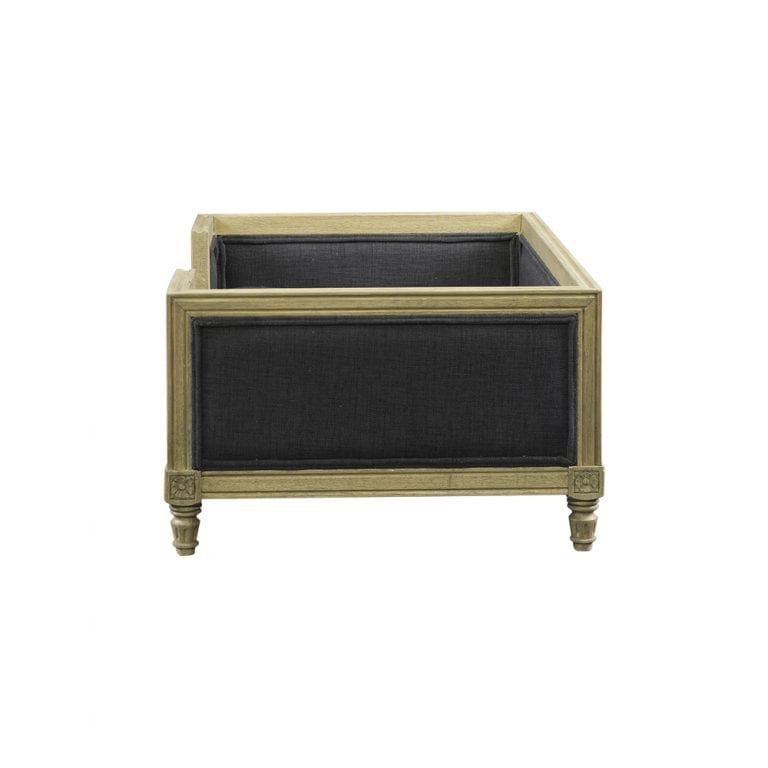 lord lou luxury dog bed Victoria-anthracite