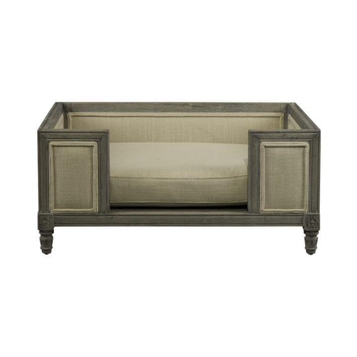 lordlou luxury dog bed Victoria-Ecru