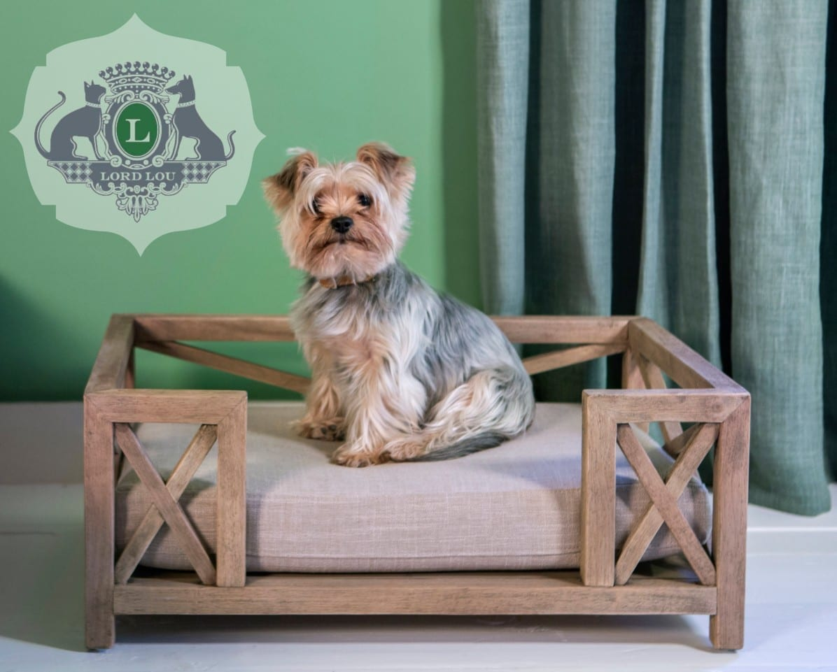 green label lord lou dog beds