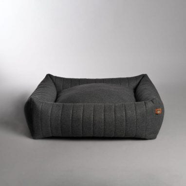 Lord Lou Columbus bed dark grey 2