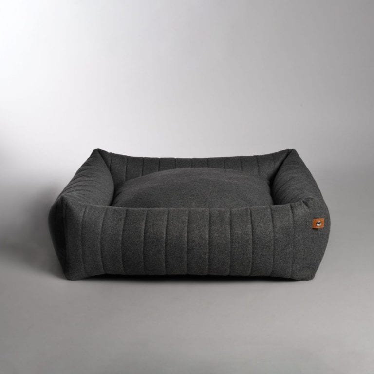 Lord Lou Columbus bed dark grey 2