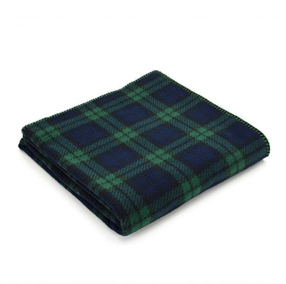 Tweedmill Fleece Throw Blackwatch