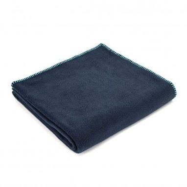 Tweedmill Fleece Throw navy