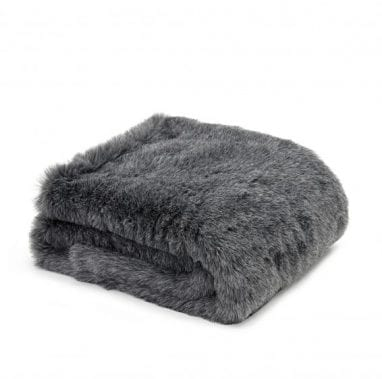 Tweedmill Throw-FF-Charcoal-Wolf